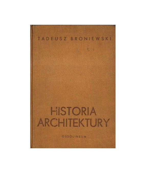 Historia architektury w zarysie