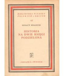 Historia na dwie księgi podzielona